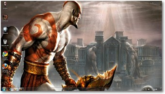 download god of war themes for pc