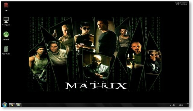 Matrix Wallpaper 04 - © TechNorms