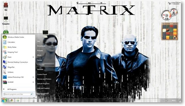 Matrix Wallpaper 05 - © TechNorms