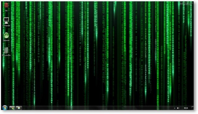 The Matrix Windows 7 Theme And Wallpapers Movie Themes