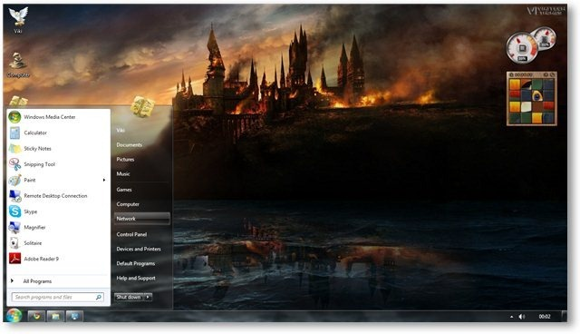 HP Deathly Hallows Wallpaper 08 - TechNorms