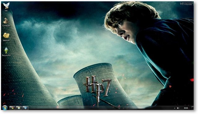 HP Deathly Hallows Wallpaper 11 - TechNorms