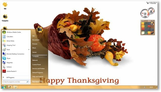 thanksgiving desktop themes