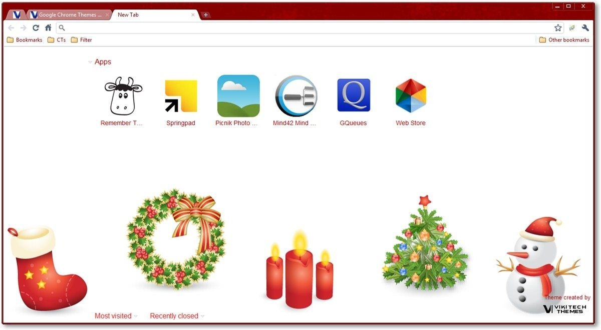 All Things Christmas Theme by TechNorms.