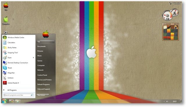 Apple Retro Wallpaper 12 - TechNorms