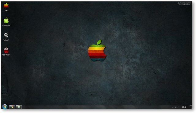 Apple Retro Wallpaper 19 - TechNorms