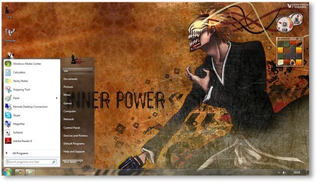 Download Tema Bleach v2 Windows 7