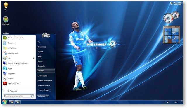 Windows 7 Themes - Chelsea FC Theme For Windows [Sports Themes]