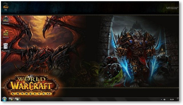 World of Warcraft Wallpaper 01- TechNorms