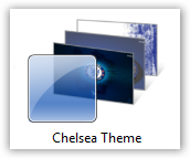 Chelsea FC Windows 7 Theme