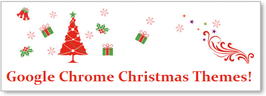 Google Chrome Christmas Themes