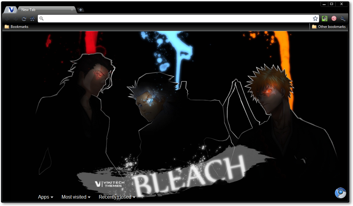 Bleach Dark Theme