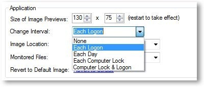 Logon Screen Rotator - App Settings