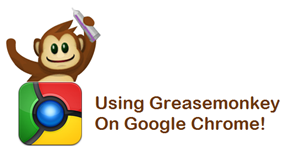 Greasemonkey chrome