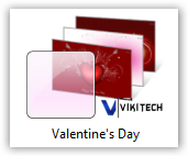 Valentines Day Windows 7 Theme