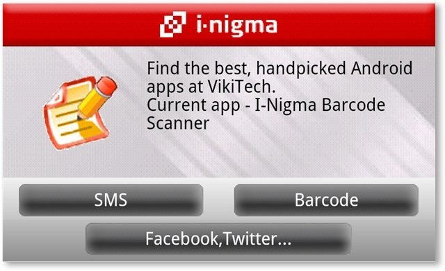 I-Nigma Barcode Scanner in Action - TechNorms