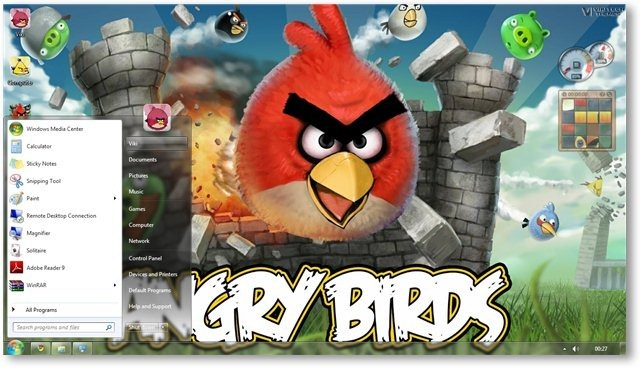 Angry Birds Wallpaper 02- TechNorms