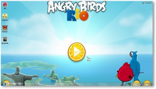 Angry Birds Wallpaper 05 - TechNorms