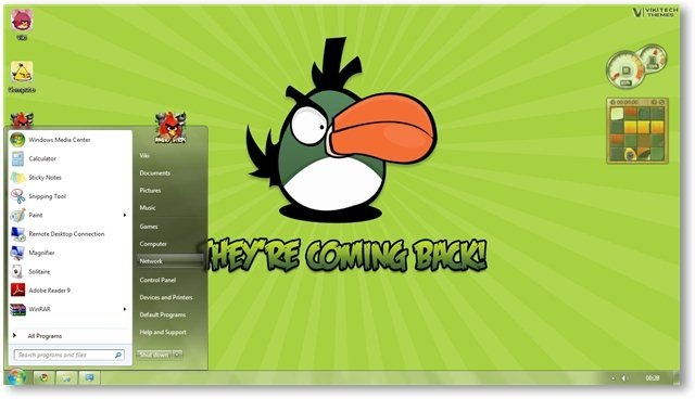 Angry Birds Wallpaper 06 - TechNorms