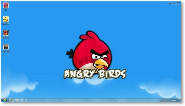 Angry Birds Wallpaper 17 - TechNorms
