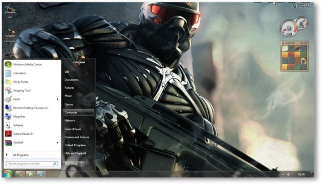 Crysis 2 Wallpaper 02 - TechNorms