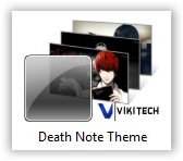 Death Note Windows 7 Theme
