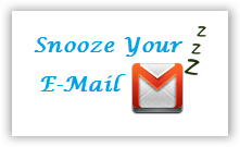 Snooze Your Email Extension