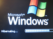 Hibernating in Windows