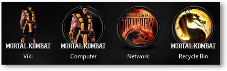 Mortal Kombat Icons - TechNorms