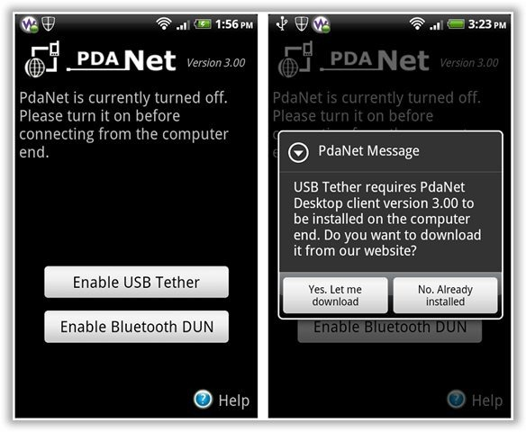 Easily Tether Your Android Phone To Your Computer with PdaNet