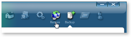 Backup and Restore options in Slimdrivers