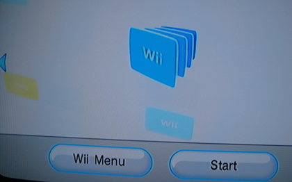 (2) Wii Shop Channel Menu