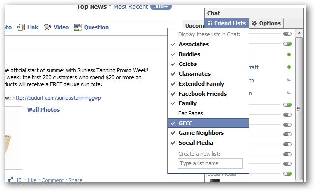 how to make facebook appear offline