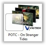 Pirates Of The Caribbean - On Stranger Tides Theme for Windows 7