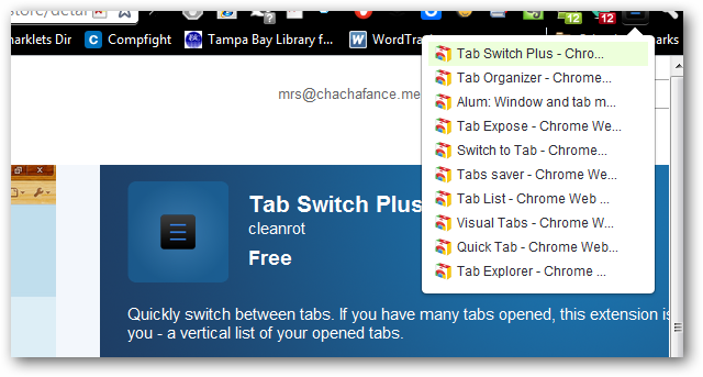 Tabs Switch Plus