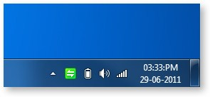 Windows 7 Taskbar Clock