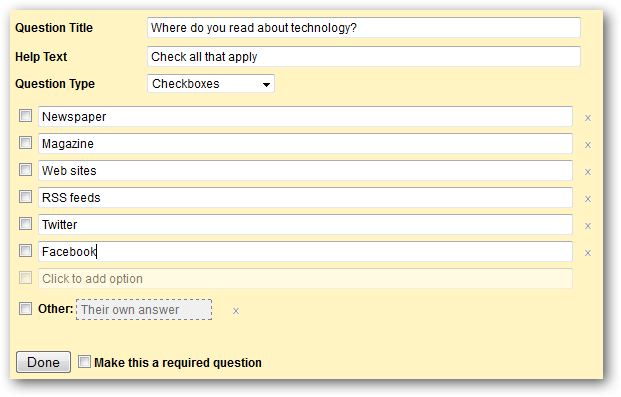 How to Use Forms in Google Docs to Create Online Surveys