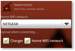 Sweet Home! Android App