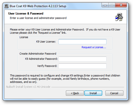 K9 Web Protection For Windows 8