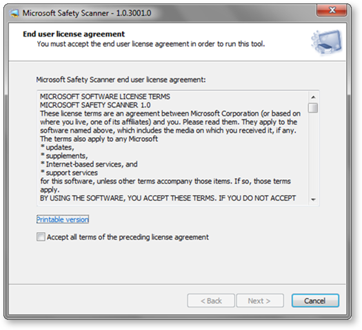 license agreement 1