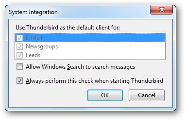thunderbird - first open 2