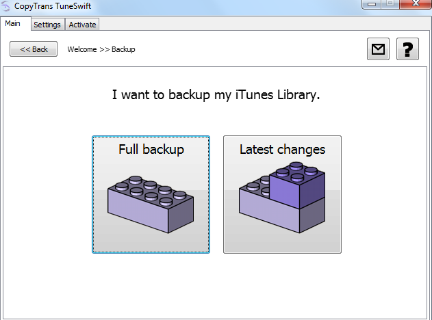 how to change where itunes backs up to