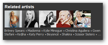 7 - related artists
