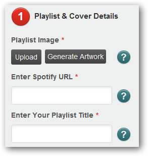 (8) submit playlist details