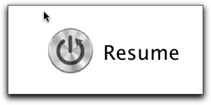 Resume - Power Button