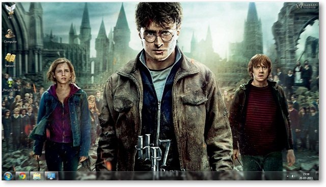 Harry Potter - The Deathly Hallows Part 2 Wallpaper 01 - TechNorms