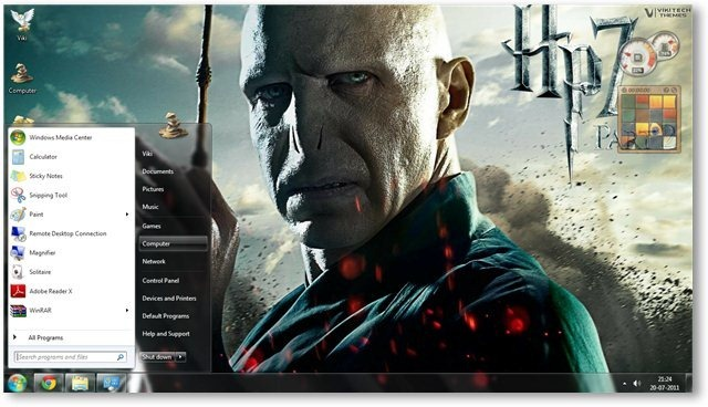 Harry Potter - The Deathly Hallows Part 2 Wallpaper 02 - TechNorms