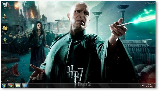 Harry Potter - The Deathly Hallows Part 2 Wallpaper 03 - TechNorms