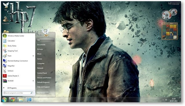 Harry Potter - The Deathly Hallows Part 2 Wallpaper 04 - TechNorms