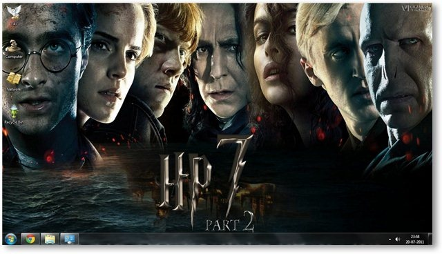 Harry Potter - The Deathly Hallows Part 2 Wallpaper 05 - TechNorms